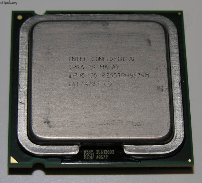 Intel Core 2 Duo E6700 80557PH0674M QPGA ES