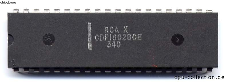 RCA CDP1802BCE diff package