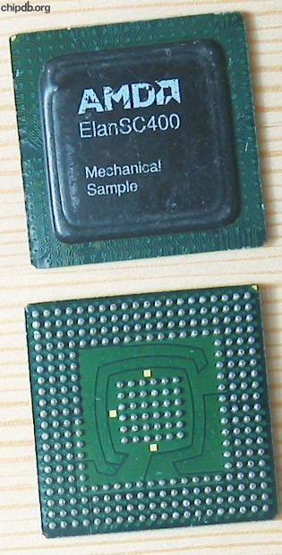 AMD ELAN SC400 Mechanical sample