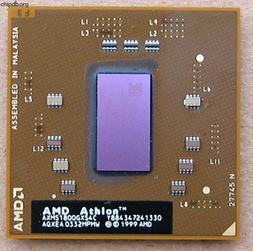 AMD Athlon Mobile XP-M 1800+ AXMS1800GXS4C AQXEA