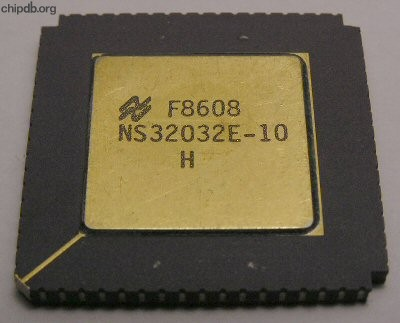 National Semiconductor NS32032E-10