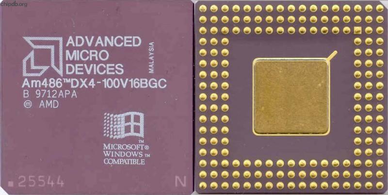 AMD - 486 - DX4-100 - AMD Am48...