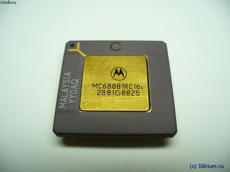 Motorola MC68881RC16B