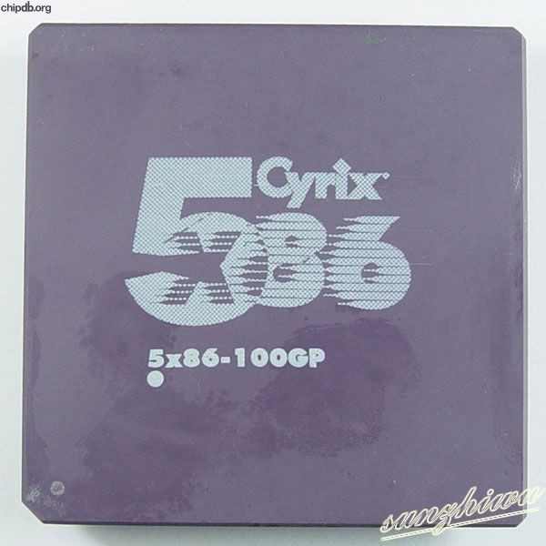 Cyrix 5x86-100GP dot