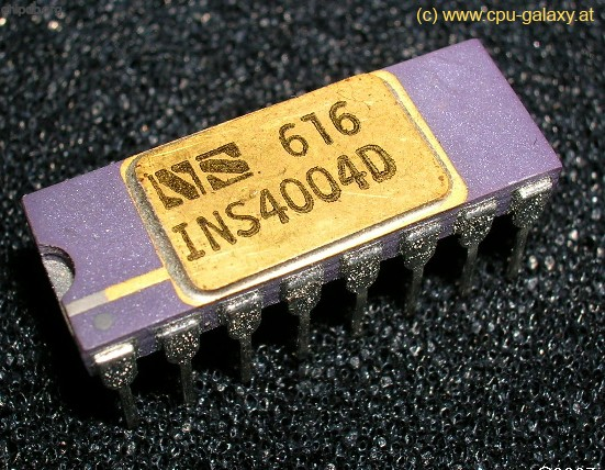 National Semiconductor INS4004D big print