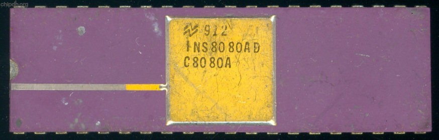National Semiconductor INS8080AD C8080A