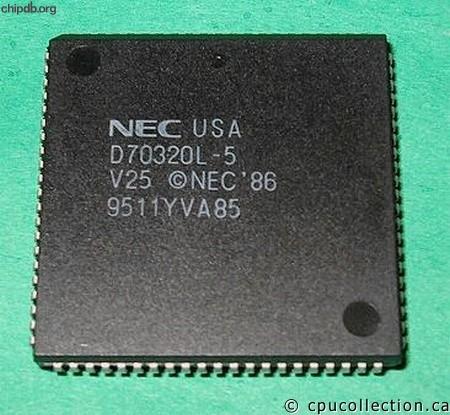 NEC - Vxx - V25 - NEC D70320L-...