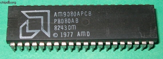 AMD AM9080A PCB P8080AB big logo