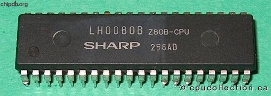 Sharp LH0080B Z80B-CPU