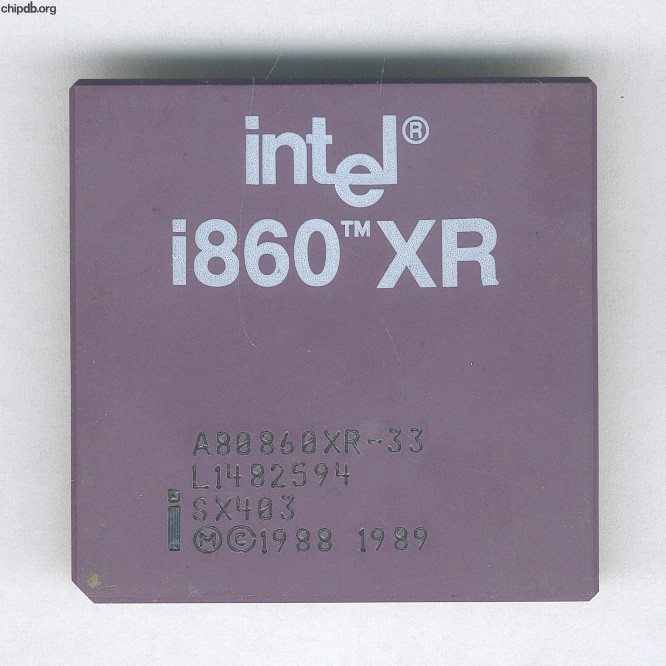Intel i860 A80860XR-33 SX403