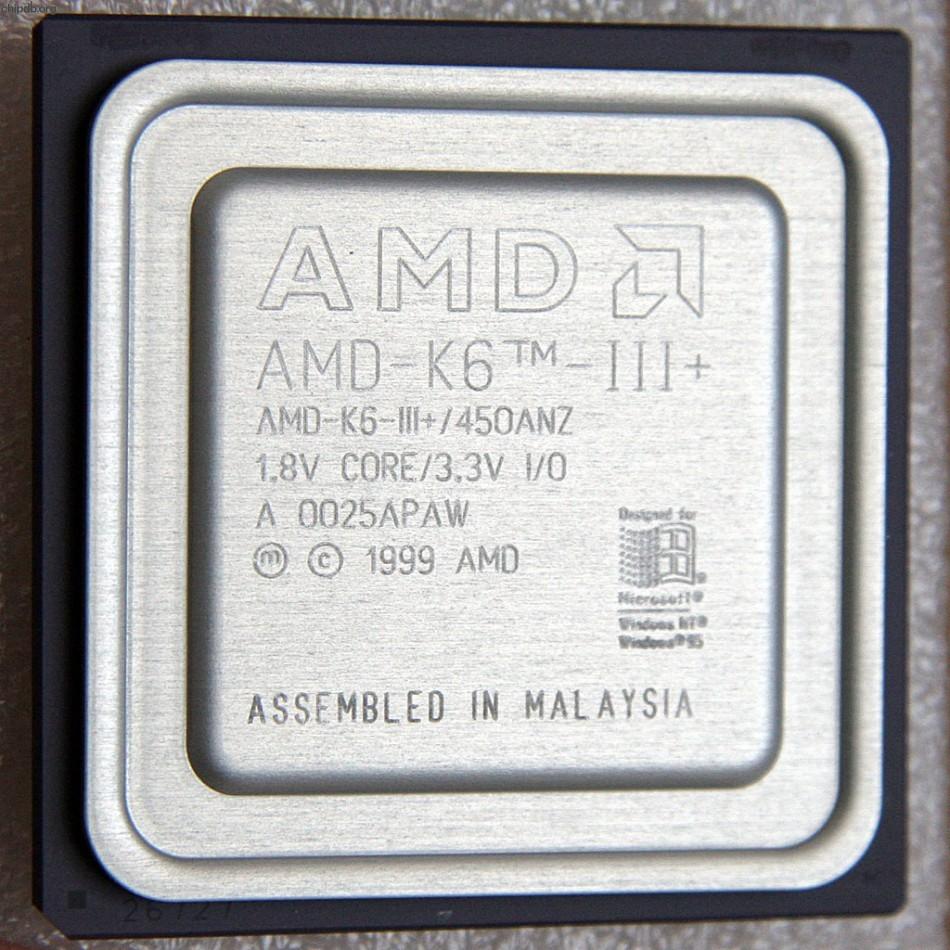 AMD AMD-K6-3+/450ANZ
