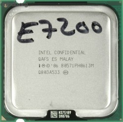 Intel Core 2 Duo E7200 80571PH0613M QAFS ES