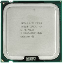 Intel Core 2 Duo E8500 3166M133306 SLB9K