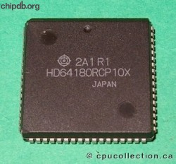 Hitachi HD64180RCP10X