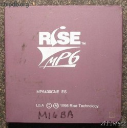 Rise mP6 ceramic engineering sample