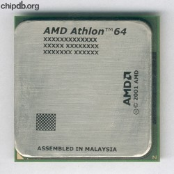 AMD Athlon64 mechanical sample