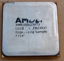 AMD Athlon 64 AM8100029073 ES