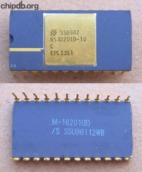 National Semiconductor NS32201D-10