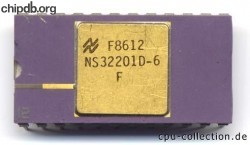 National Semiconductor NS32201D-6