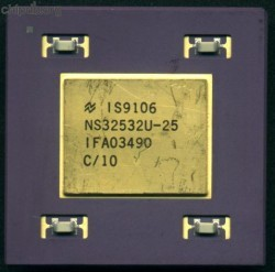 National Semiconductor NS32532U-25