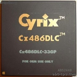 Cyrix CX486DLC-33GP