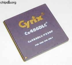 Cyrix CX486DLC-V33GP