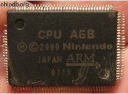 Nintendo CPU AGB (Game Boy Advance)