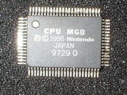 Nintendo CPU MGB (Game Boy Pocket CPU)