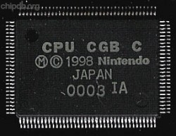 Nintendo CPU CGB C (Gameboy Color)