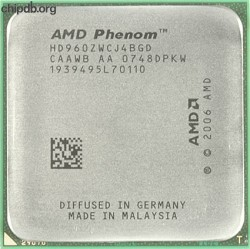 AMD Phenom 9600 HD960ZWCJ4BGD CAAWB th