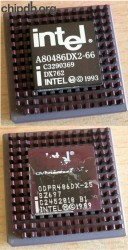 Intel A80486DX2-66 DX762 FAKE