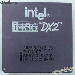Intel A80486DX2-66 SX818 FAKE