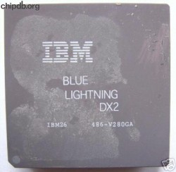IBM 486DX2-80 BLUE LIGHTNING FAKE