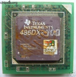Texas Instruments 486DX2-100 PQFP FAKE