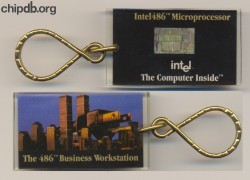 Intel Keychain 486 Business Workstation