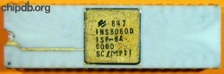 National Semiconduction ISP-8A/600D INS8060D