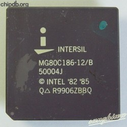 Intersil MG80C186-12/B