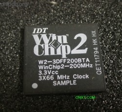 IDT Winchip2 W2-3DFF200BTA SAMPLE