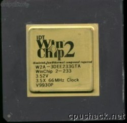 IDT Winchip2 W2A-3DEE233GTA