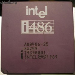 Intel A80486DX-25 SX249