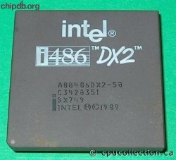 Intel A80486DX2-50 SX749