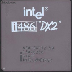 Intel A80486DX2-50 SX641