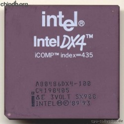 Intel A80486DX4-100 SX900