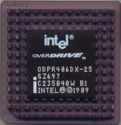 Intel ODPR486DX-25 SZ697