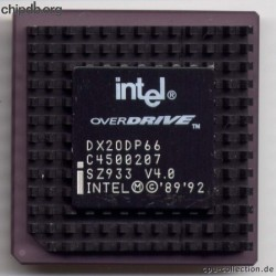 Intel DX2ODP66 SZ933 V4.0