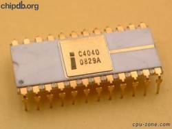 Intel C4040 groundstrap right