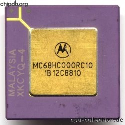 Motorola MC68HC000RC10