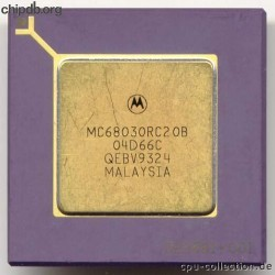 Motorola MC68030RC20B