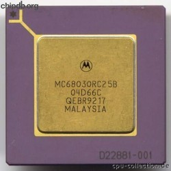 Motorola MC68030RC25B