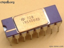 National Semiconductor INS4004D 7728